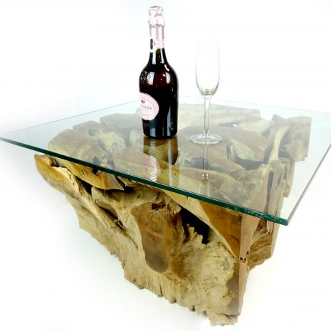 PJ_MAK_MJ141 Padang Small Square Teak Root Glass Top Coffee Table W70cm H43cm D70cm_002