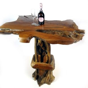PJ_MAK_MJ175 Bakulan Reclaimed Teak Root High Bar Table w150 h110 d100cm_002