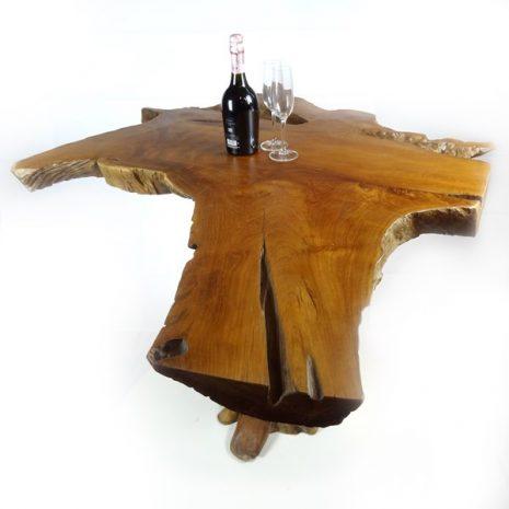 PJ_MAK_MJ175 Bakulan Reclaimed Teak Root High Bar Table w150 h110 d100cm_006