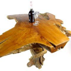 PJ_MAK_MJ175 Bakulan Reclaimed Teak Root High Bar Table w150 h110 d100cm_005