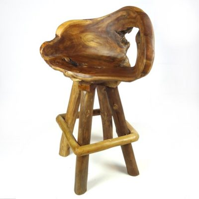 PJ_MAK_MJ240 Bakulan Teak Root Swivel Bar Stool _005