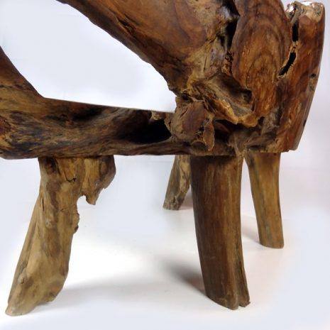 PJ_MAK_MJ2 Bakulan Teak Root Bench w160 h75 d60cm 003