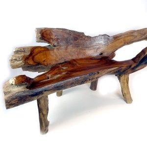 PJ_MAK_MJ2 Bakulan Teak Root Bench w160 h75 d60cm 005