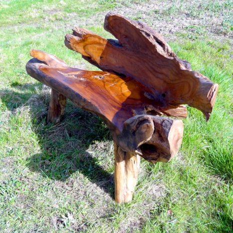 PJ_MAK_MJ2 Bakulan Teak Root Bench w160 h75 d60cm 006