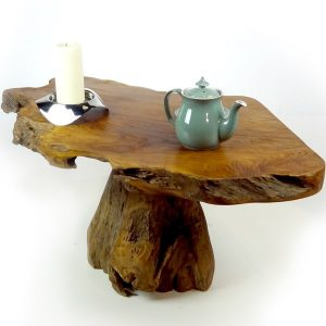 PJ_MAK_MJ303 Raja Reclaimed Teak Root Coffee Table 1 Leg w80 h45 d60cm_010