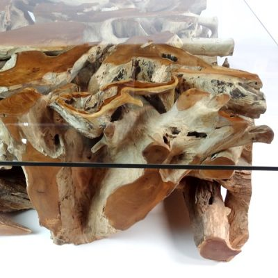 PJ_MAK_MJ543 Padang Large Rectangular Teak Root Glass Top Coffee Table W120 H43cm D90cm_005