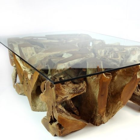 PJ_MAK_MJ543 Padang Large Rectangular Teak Root Glass Top Coffee Table W120 H43cm D90cm_006