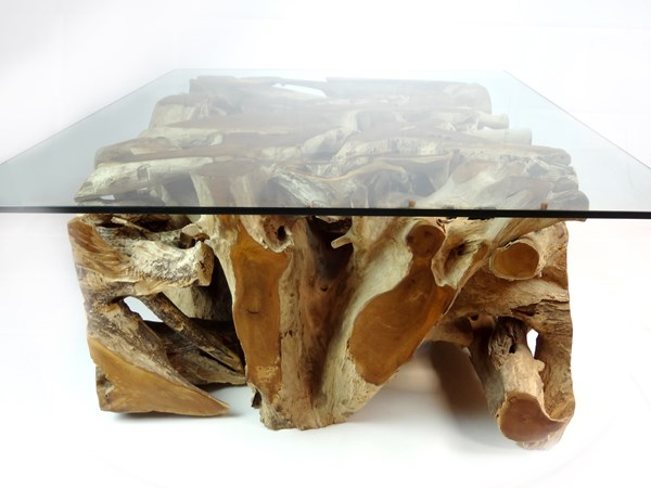 PJ_MAK_MJ543 Padang Large Rectangular Teak Root Glass Top Coffee Table W120 H43cm D90cm_008