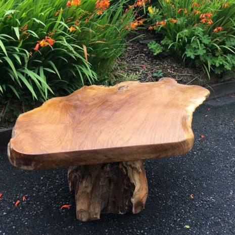 Raja 80cm Teak Root Coffee Table - 45cm tall