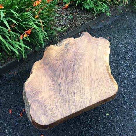 Raja 80cm Teak Root Coffee Table Top 2