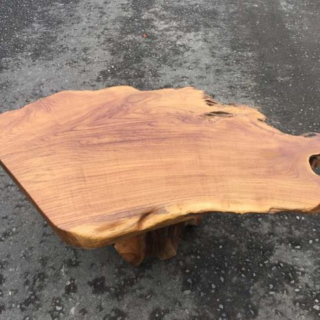 Raja 80cm Teak Root Coffee Table Top