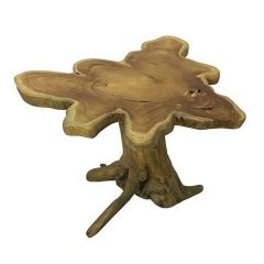 Raja Teak Root Mushroom Shaped Side Table 60cm