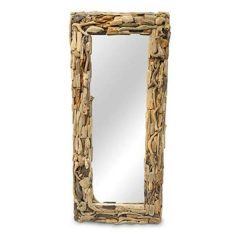Extra Large Driftwood Mirror Rectangular 140cm