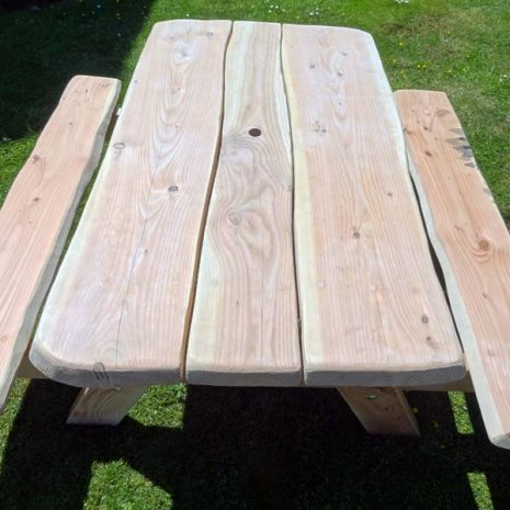 Handmade in Wales - 10 Seater A Frame Picnic Table
