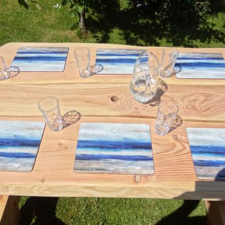 Handmade in Wales - Wooden A Frame Picnic Table 5ft