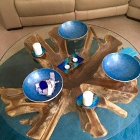 PJ_MAK_MJ451 Batu Large Teak Root Trunk Round Glass Top Coffee Table W110cm H48cm D110cm_002