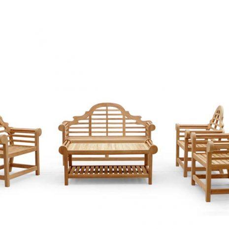Classic Lutyens Teak Garden Furniture Collection