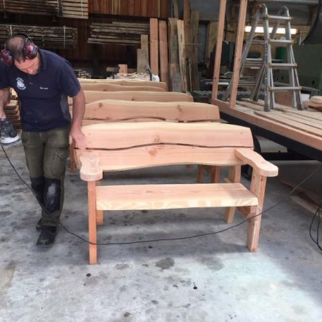 Garden Benches lovingly handmade in Wales