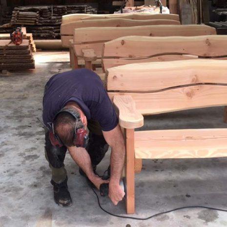 Handmade In Wales Garden Benches