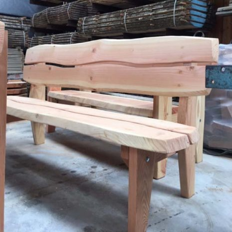 Handmade In Wales - Super Strong Park Bench - Armless