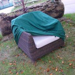 Heavy Duty Waterproof Rattan Armchair Cover
