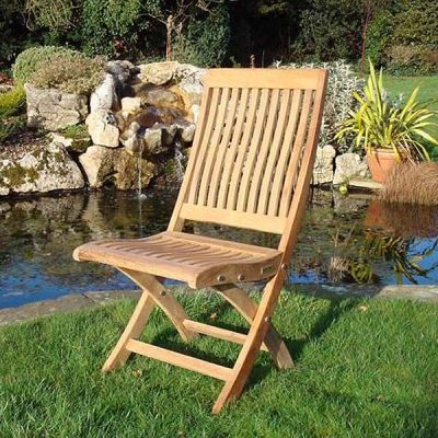 New Gainsborough Folding Teak Chair KH_KT914