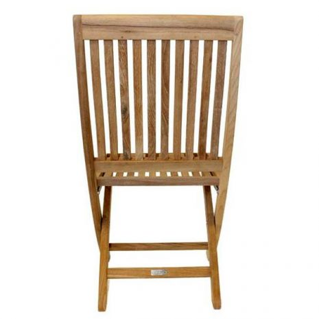 New Gainsborough Folding Teak Chair Rear viewKH_KT914