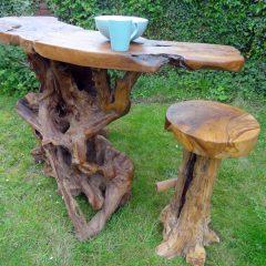 PJ_MAK_MJ586 Teak Root Slab Large Bar Dining Table_010