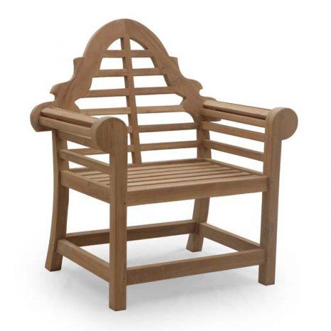 PJ_MSL_5809 Lutyens Teak Garden Armchair 105cm