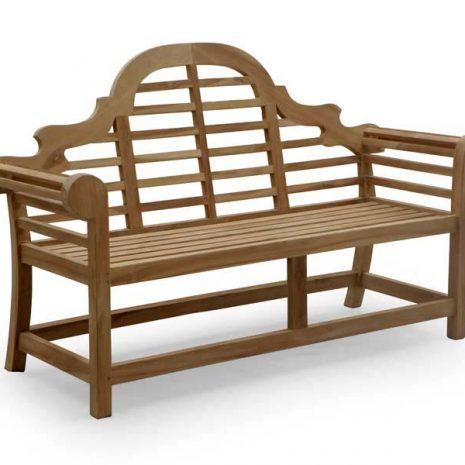 PJ_MSL_5811 Lutyens 3 Seater Teak Bench 168cm