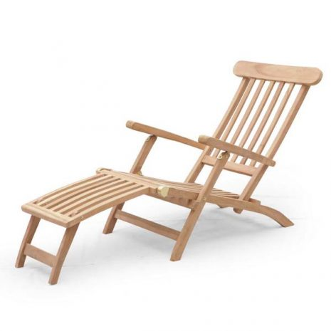 PJ_MSL_5827_Aegean Steamer Chair Sun Lounger With Removable Footrest 100cm