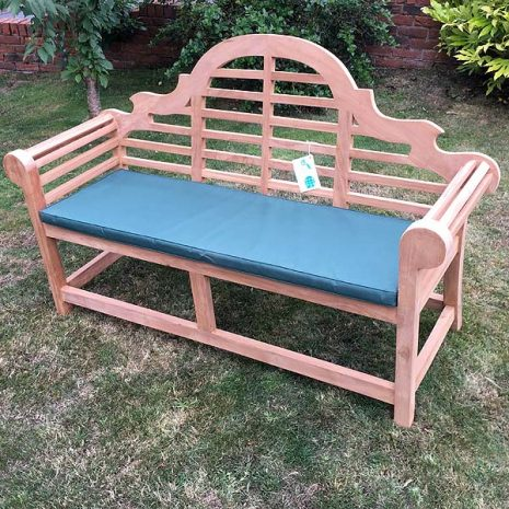 PJ_MSL_RN_5811 Classic Lutyens 3 Seater Teak Bench 168cm