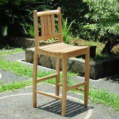 PJ_MSL_5838 Tahiti Teak Bar Chair