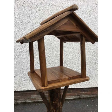 Teak Root Bird Table Feeding Station Bird House