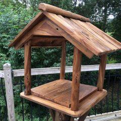 Teak Root Bird Table Feeding Station PJ_MAK_MJ70