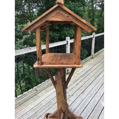 Teak Root Bird Table Feeding Station PJ_MAK_MJ70 B