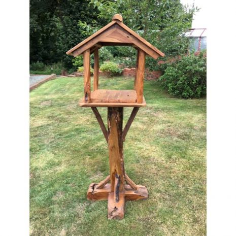 Teak Root Bird Table Feeding Station PJ_MAK_MJ70 C