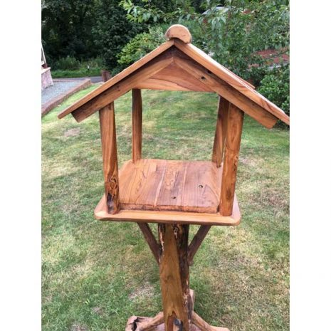 Teak Root Bird Table Feeding Station Wooden PJ_MAK_MJ70