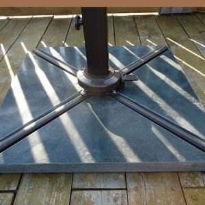 Bonnington Junior Square Tilting Cantilever Parasol Base