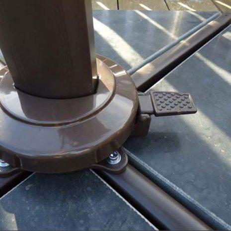 Bonnington Junior Tilting Cantilever Parasol Foot Pedal