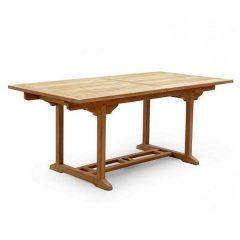 PJ_MSL_5840 Oswald Rectangular Teak Extending Table 240cm