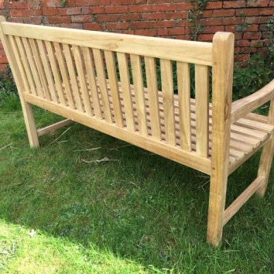 Shire Straight back Bench Back