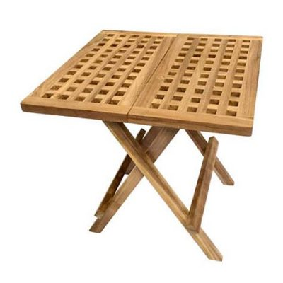 Square Folding Wooden Picnic Table 50cm