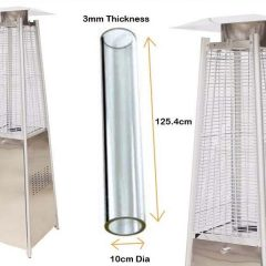 Tambora-Gas-Patio-Heater Replacement Glass Tube