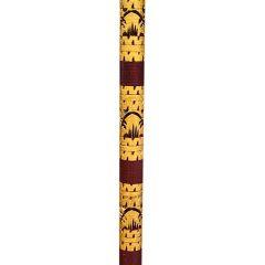 Balinese Traditional Sun Parasol Umbrella Pole decorative detail