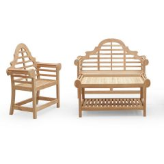 Lutyens 3 Piece Teak Garden Furniture Set