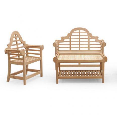 Lutyens 3 Piece Teak Garden Furniture Set