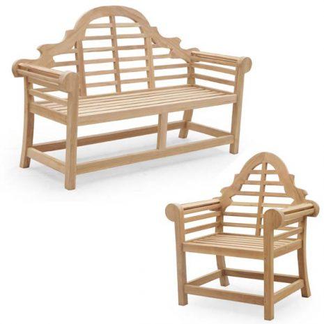 Lutyens 4 Seater Garden Furniture Set