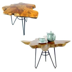 Malang Teak Root Table Set