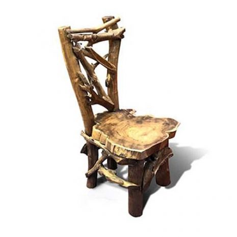 ombok Teak Root Garden Dining Chair PJ_MAK_MJ541